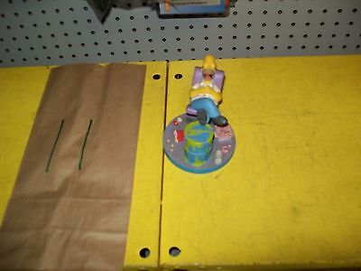 The Simpsons asleep on the job the misadventures of homer collection figurine