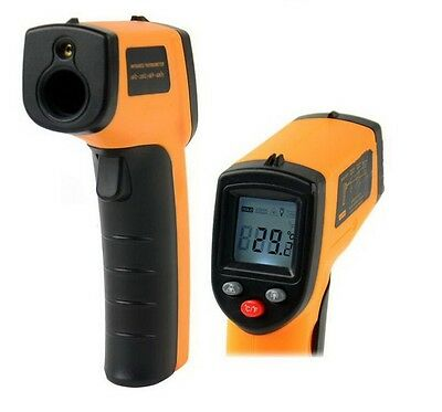 GM320 Non-Contact LCD IR Laser Infrared Digital Temperature Thermometer Gun UK