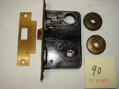 Vintage YALE Industrial Mortise Lock with Parts - NOS - # 90