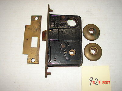 Vintage YALE Industrial Mortise Lock with Parts - NOS - # 92