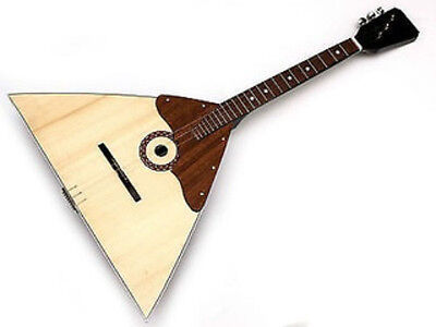NEW Russian folk instrument Balalayka 3 Strings! Wood! High Quality!