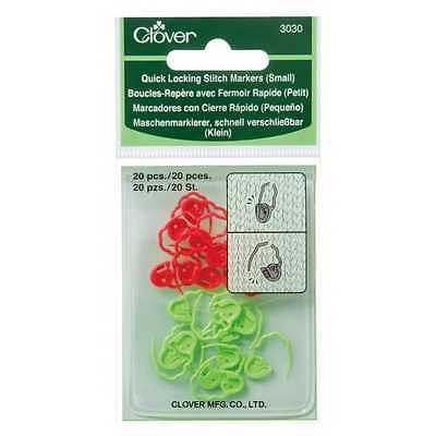 Clover ::Quick Locking Stitch Markers #3030:: Small