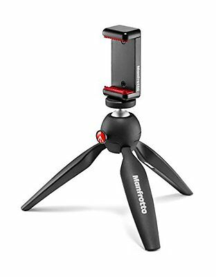Manfrotto Stand for Universal Cell Phone - Retail Packaging - Black