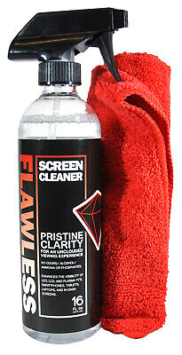 Screen Cleaner - Spray Bottle with Microfiber Cloth by Clean Flawless