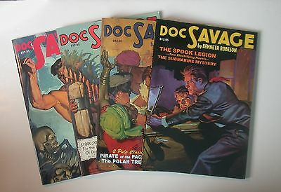 Lot of Doc Savage double reprints #5,6,7,8