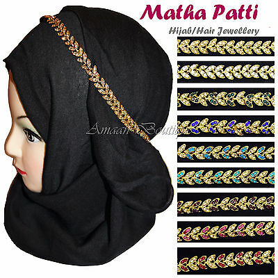 Hair Chain Matha Patti Headpiece Damni Scarf Hijab Pin Jewellery Bridal Wedding
