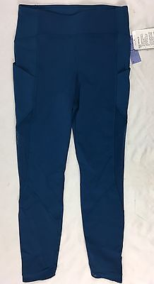 Lululemon Women Sole Training 7/8 Tight High Rise Luxtreme PSDN Teal Size 8
