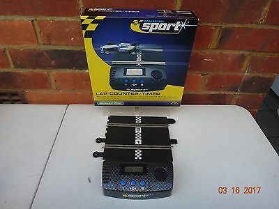 Scalextric Sport Slot Car Lap Counter / Timer Boxed