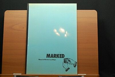 Marked Manual of Marked Card Magic by Martin Breese