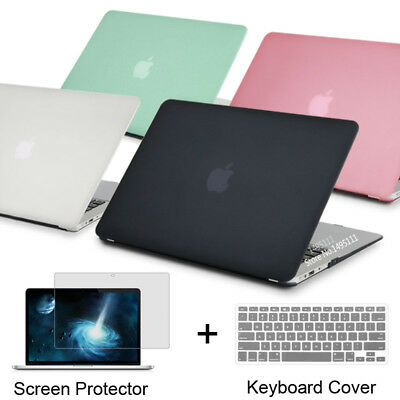 Matte/Crystal Plastic Case Keyboard Cover For Macbook Air 11 13 Pro Retina 13 12