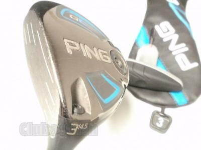 Ping G Series Fairway 14.5* 3 Wood ALTA 65 Stiff Flex +Tool & Cover .. LEFT LH