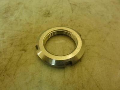 "25077 New-No Box, MFG- KMS-06 SST Locknut Shaft Collar 1-3/4"" OD 0.271"" Width"