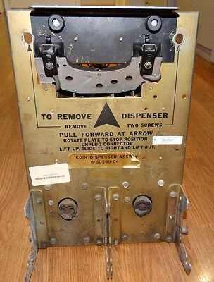 ROWE Coin Dispenser Assembly 6-50580-04 65058004 BC-1400 Serviced 4-10-2015