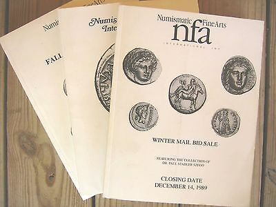 Lot of (6) Numismatic Fine Arts Auction/ Fixed Price Catalogs