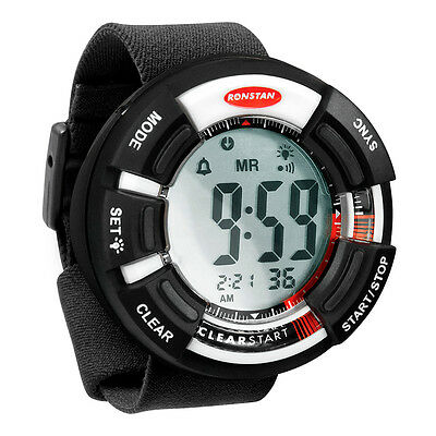 "Ronstan Clear Start  Race Timer - 65mm(2-9/16"""") - Black/White"