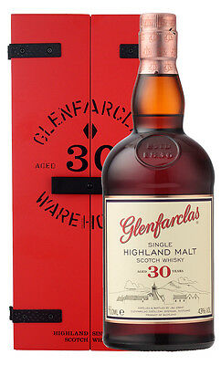 Glenfarclas 30YO Highland Single Malt Scotch Whisky 700ml (Boxed)