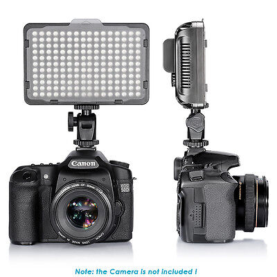 Neewer Studio 176 LED Ultra Bright Dimmable on Camera Camcorder Video Light