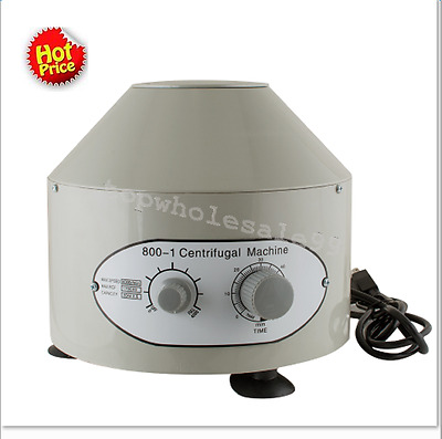 Benchtop Electric Lab Centrifuge laboratory Medical Practice 4000rpm 20 ml x 6 T