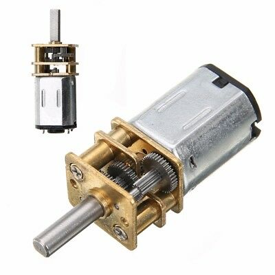 DC 6V 200RPM Mini Electric Metal Gear Motor with Gearwheel 3mm Shaft Box Motor