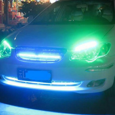 2pcs Waterproof 30cm Flexible LED Car Strips 12V 5W Daytime Running lights Decor