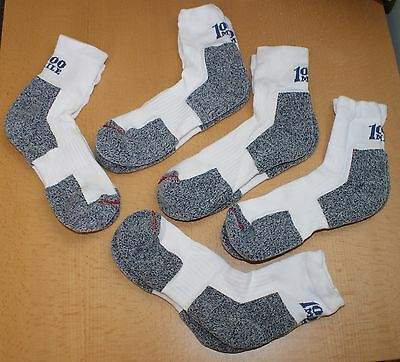 5 pairs 1000 Mile Ultra Performance Sports Running Socks with Cupron Size 6 7 8