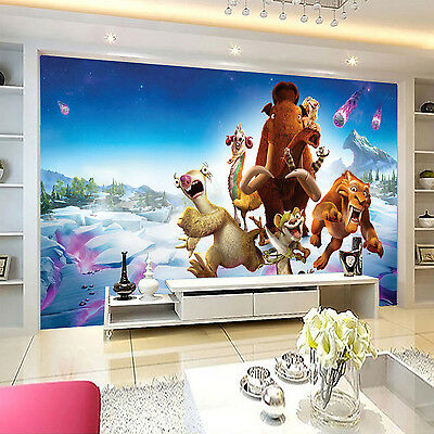 3D Glacier century 414 Wall Paper Print Decal Wall Deco Indoor wall Mural