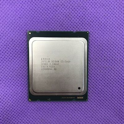 Intel SR0KK Xeon E5-2660 8-Core 2.2GHz 20MB Processor 8GT/S CPU