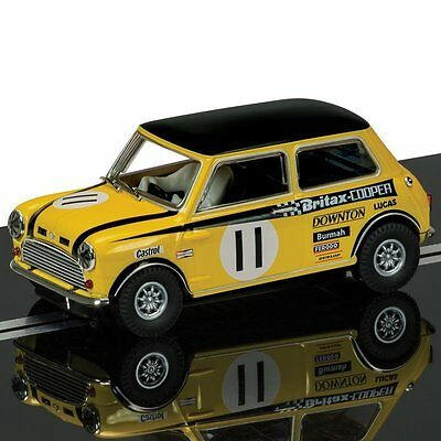 Scalextric 1:32 Scale C3640 Mini Cooper S Britax Slot Car *new* (Wh)
