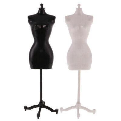 Miniature Display Holder Dress Clothes Gown Mannequin Model Stand Doll House