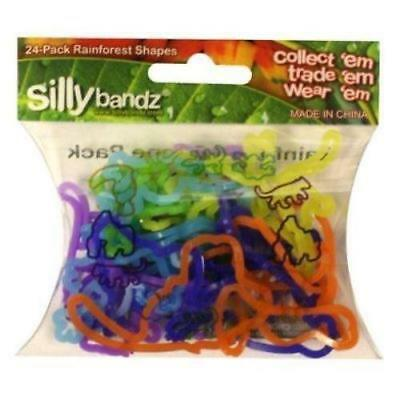 Official Sillybandz Rubber Silly Bandz Rainforest x 24