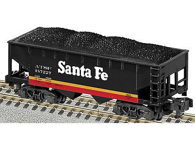 Brand New American Flyer Trains S Santa Fe 2 Bay Hopper # 6-48637