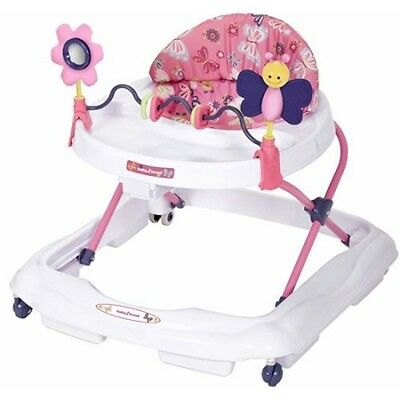 Baby Walker Activity Walk Toy Infant Toddler Kids Safety Seat Adjustable New