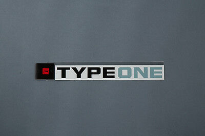 SPOON TYPEONE LOGO  STICKER For UNIVERSAL FITTING ALL-90000-T21