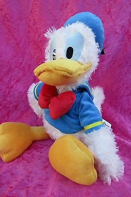 """Disney Paris Authentic DONALD DUCK 15"""" Soft Plush Toy Mickey Mouse Clubhouse"""