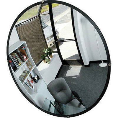 Indoor Polycarbonate Convex Security Mirror Traffic Safety Display 18 inch New