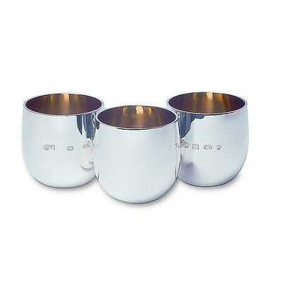 X1 Sterling Silver Wee Dram Tot Cup By Robert Welch £120