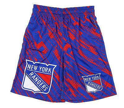 KLEW NHL Youth New York Rangers Game Day Shorts