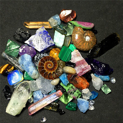 191.9G 20 kinds of crystal and stone specimens.J1155