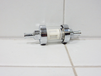 "50cc 150cc FUEL FILTER HIGH PERFORMANCE FOR SCOOTERS ATVS KARTS (1/4"")"