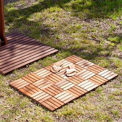Southern Enterprises OD9546 6Pc Set-Navi Outdoor Floor Tile NEW