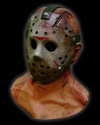 JASON VOORHEES LATEX MASK Halloween Costume Friday 13th
