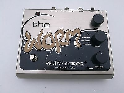 Electro Harmonix The Worm Wah Tremolo Vibrato Phaser - Free Next Day Delivery Uk