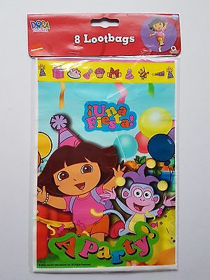 Dora the explorer Party Loot Bags pack of 8