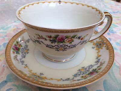 NS China Made In Japan Vintage Tea Cup And Saucer