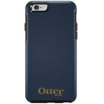 Symmetry Leather Iphone 6 Plus Navy Blue