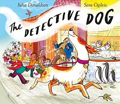 The Detective Dog by Julia Donaldson New Paperback Book