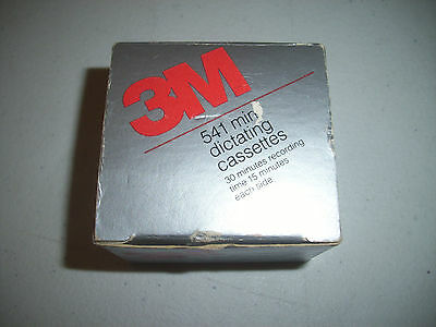 Box of 5 3M  Micro II Dictating Cassettes
