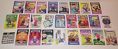 lot TOPPS GPK Garbage pail kids WACKY Packages TRUMPOCRACY cards TRUMP 1-53