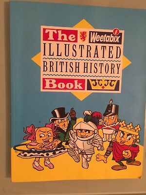 The Weetabix Illustrated British History Book - VERY GOOD CONDITION