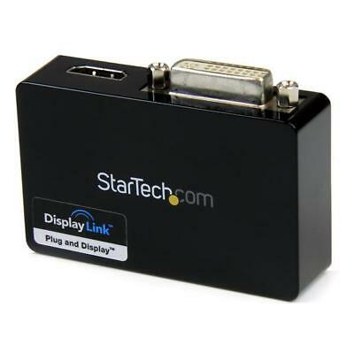 STARTECH USB 3.0 to HDMI and DVI Dual Monitor External Video Card Adapter - USB
